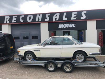 BMW 3.0 CSI 1972 restauration.